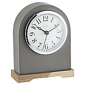 Acctim Aston Mantle Clock, White/Grey