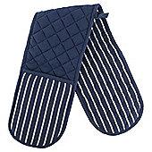 Navy Stripe Double Oven Glove