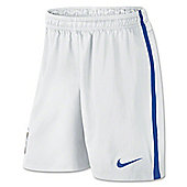 2014-15 Brazil Nike Away Shorts (White) - Kids
