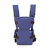 Mothercare Two Position Baby Carrier - Navy Polka Dots