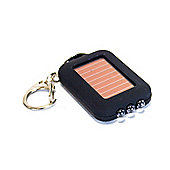 Yellowstone Lightweight Solar 3 LED Keyring Torch