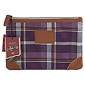 Dolland and Devaux Make up Bag Tweed