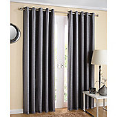 Enhanced Living Santiago Eyelet Grey Curtains 117X137cm