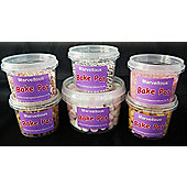 Set of Six Marvellous Bake Pots for Creative Topping