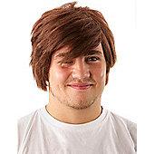 Men's Brown Wig