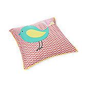 My World Baby Bedding Colour Bird Cushion