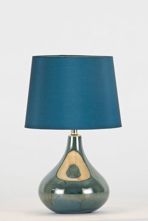 Lighting In:Style Terri Table Lamp in Teal