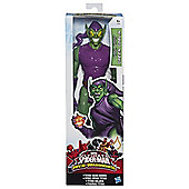 "Ultimate Spider-Man Green Goblin Web-Warriors 12"" Figure"