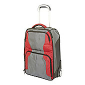 Linea Small Duffle Nylon Expandable Travel Bag Red