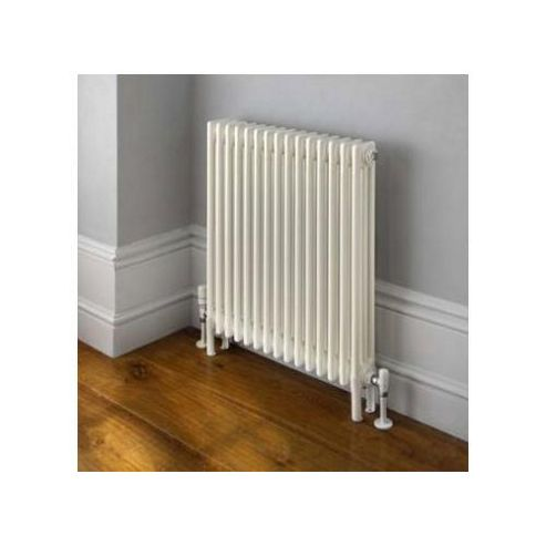 TRC Ancona 4 Column Radiator, 300mm High x 1380mm Wide, 30 Sections, White