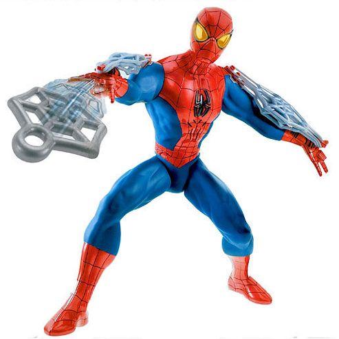 Rapid Fire Web Blast Spider-man