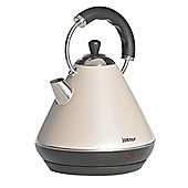 Igenix IG740C 1.8 Litre Pyramid Kettle - Metallic Cream