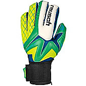 Reusch Waorani Pro Ortho Tec Mens Goalkeeper Goalie Glove Green/Yellow - Green