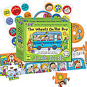 ELC Jingle Puzzle - The Wheels on the Bus Jigsaw