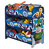 Monsters University 6 bin storage