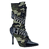 Army Girl Boots Small