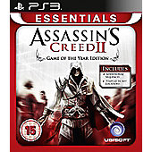 Assassins Creed 2 Game Of The Year Edition (Essentials) - PS3