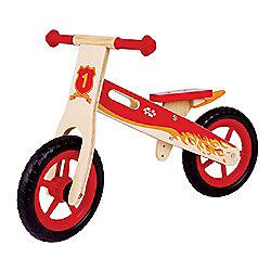 Bigjigs Toys BJ776 My First Balance Bike (Red)