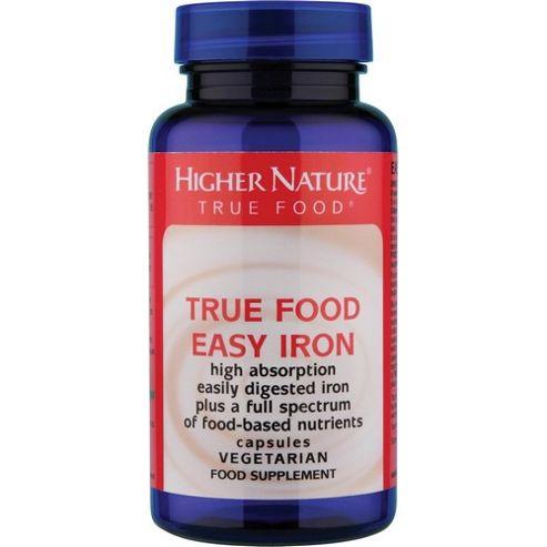 Higher Nature True Food Zinc 30 Veg Tablets