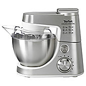 Tefal QB403D40 Kitchen Machine, Stainless Steel