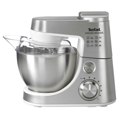 Tefal Kitchen Machine, QB403D40, 900W - Stainless Steel