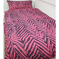 Animal Stripe, Pink Single Bedding