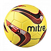 Mitre Indoor V5 Football Soccer Ball - Yellow - 5