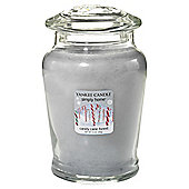 Yankee Candy cane Filled Jar