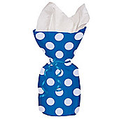 Blue Polka Dots Cellophane Party Bags