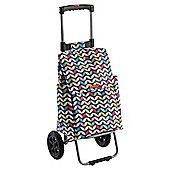 Typhoon Modern Butterfly Shopping Trolley with Adjustable Handle