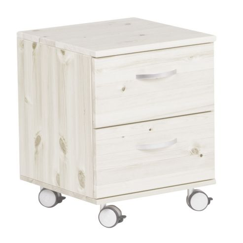 Thuka Trendy Two Drawer Chest - White - Blue