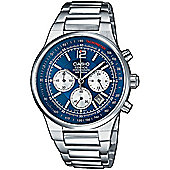 Casio Edifice Mens Stainless Steel Chronograph Watch EF-500D-2AVEF