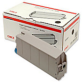 OKI Type C4 Toner Cartridge for C7100/7300/7500 Printers (Black)