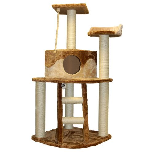 Techstyle Kitty Activity Centre / Cat Scratch Post Toy