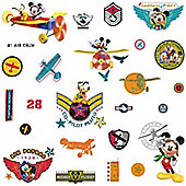 Mickey Mouse Wall Stickers - Air Patrol