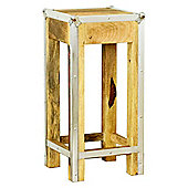 Baumhaus IRC10C Roadie Chic Oak Lamp Table