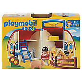 Playmobil 6778 123 Take Along Barn