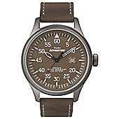 Timex Gents Expedition All Brown Strap Watch T49874SU