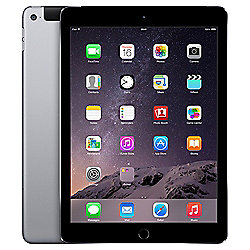 Apple iPad Air 2, 128GB, WiFi & 4G LTE (Cellular) - Space Grey