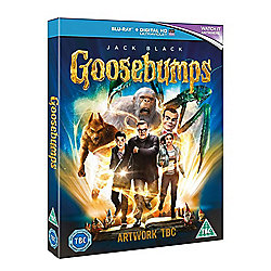 Goosebumps Blu-ray