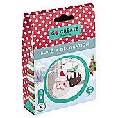 Go Create Christmas Foam Decorations Santa/Pudding