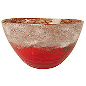 Urbane Designs Mediterranean 20cm Bowl - Red