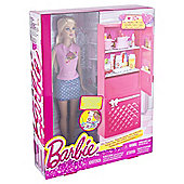 Barbie Doll and Fridge