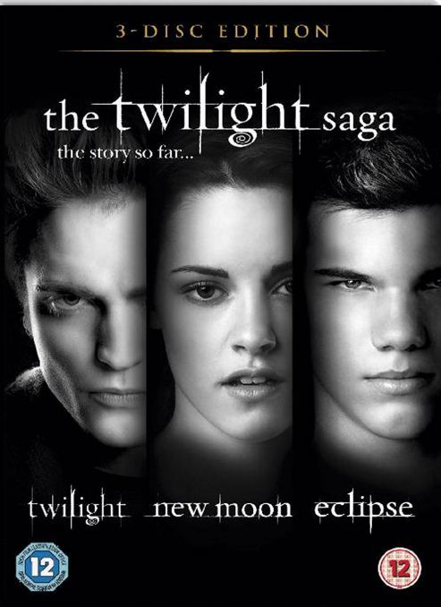 The Twilight Saga Triple - Twilight / New Moon / Eclipse (DVD Boxset)