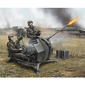 Zvezda - German 20-MM Anti-Aircraft Gun With Crew FLAK-38 1/72 6117