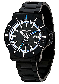 Jorg Gray Men's Watch JG9500-24 Steel Strap Black Dial