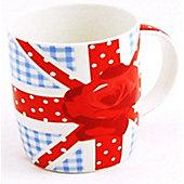 Sabichi British Rose Mug (Set of 4)