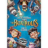 The Boxtrolls DVD