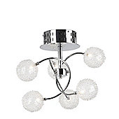 Home Essence Golf Six Light Ceiling Light
