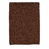 Oriental Carpets & Rugs Pebbles Terracotta Knotted Rug - 170cm L x 120cm W